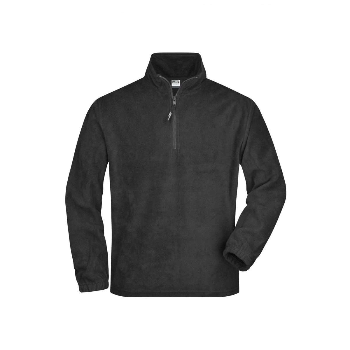 Толстовка мужская JN043 Half-Zip Fleece - Темно-серый