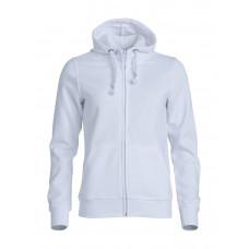 Толстовка женская 021035 Basic Hoody Full zip ladies - Белый