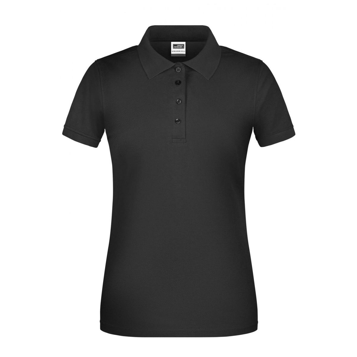 Рубашка поло женская JN873 Ladies BIO Workwear Polo - Черный