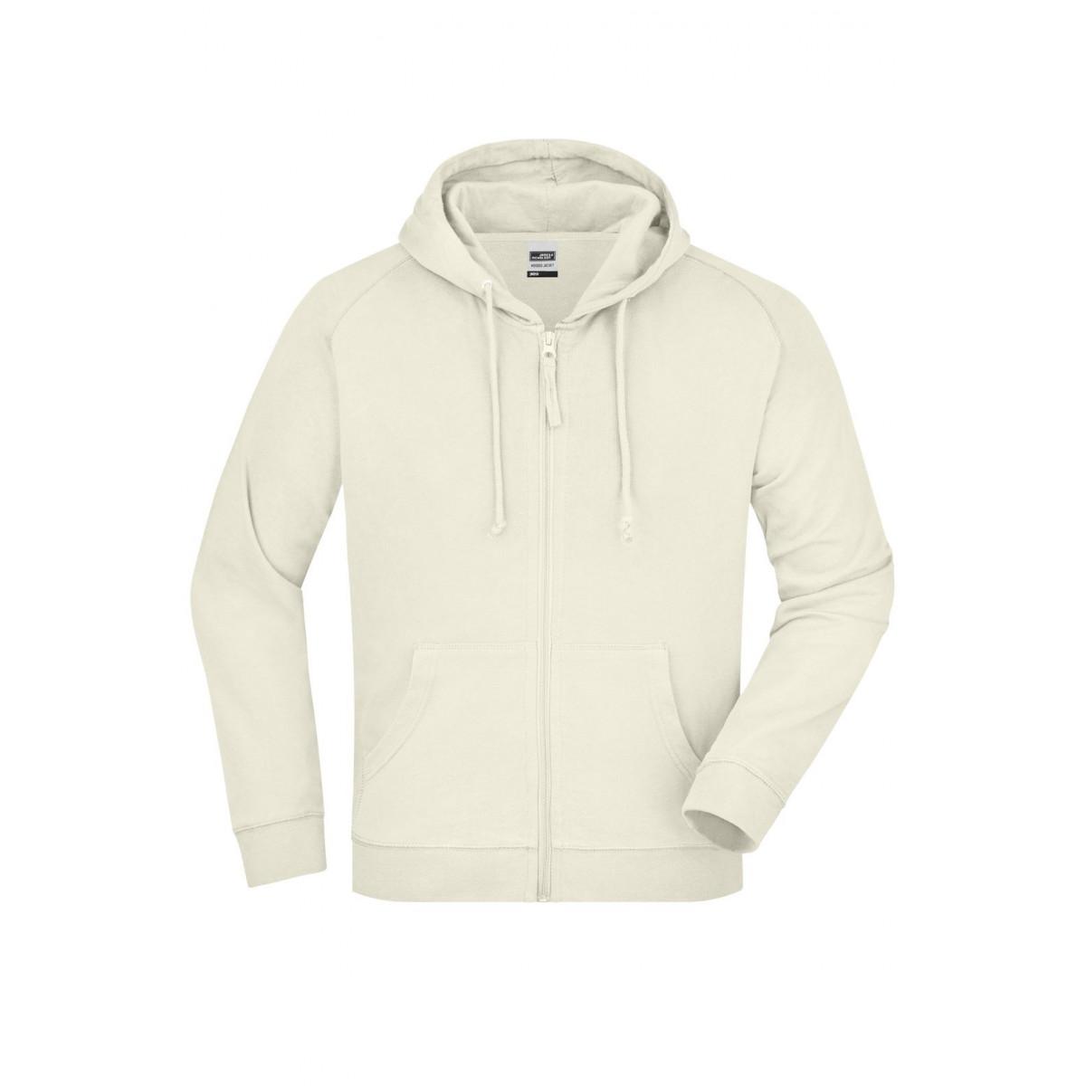 Толстовка мужская JN059 Hooded Jacket - Бежевый