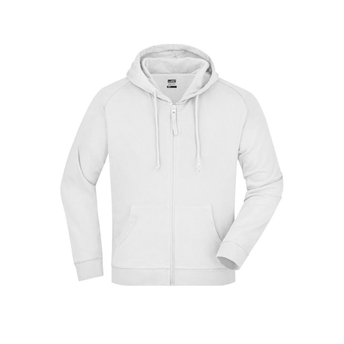 Толстовка мужская JN059 Hooded Jacket - Белый