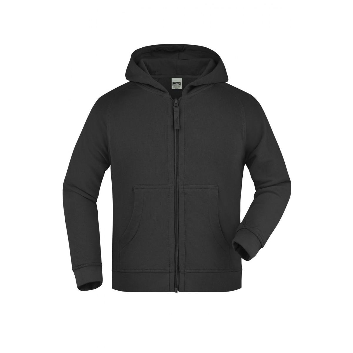 Толстовка детская JN059K Hooded Jacket Junior - Черный