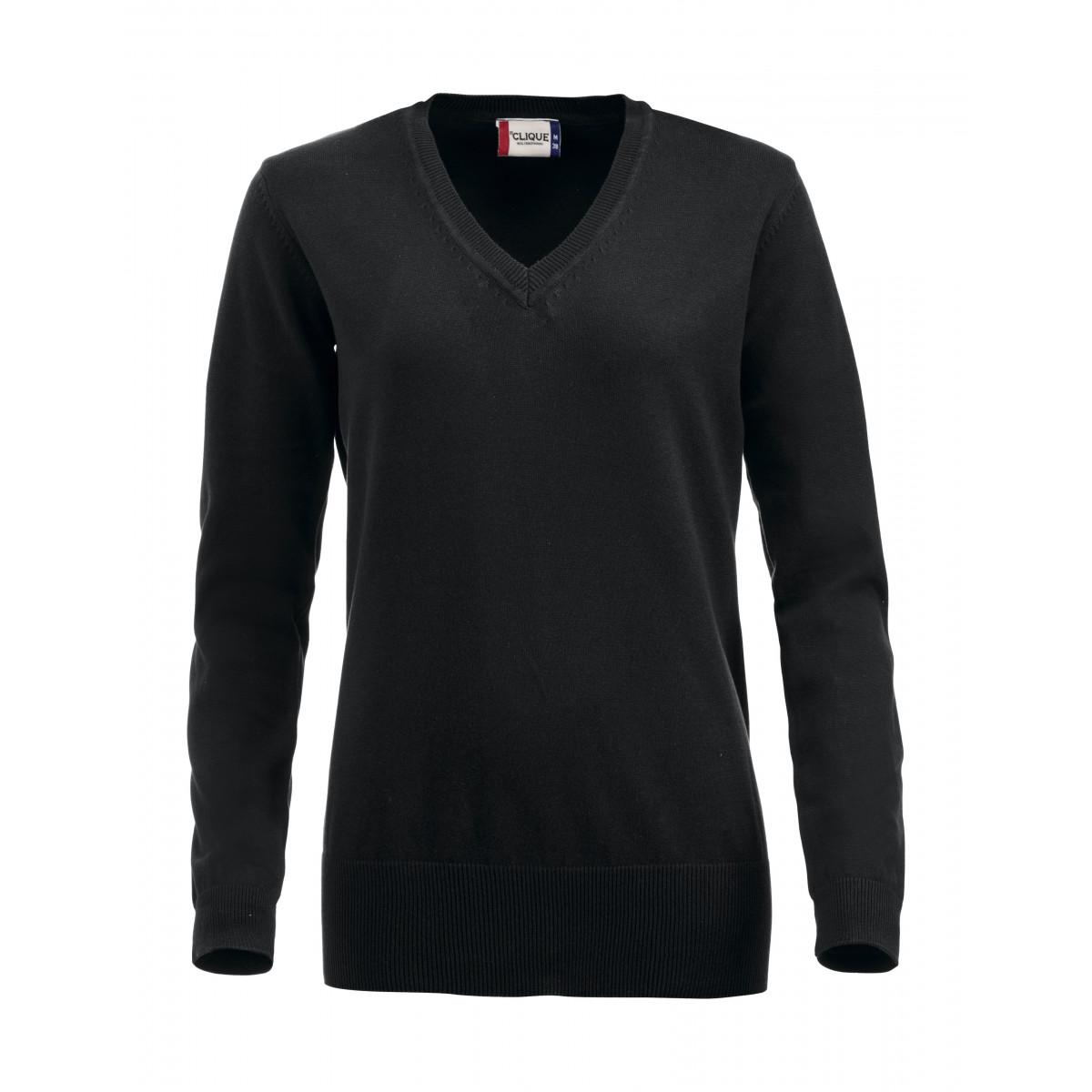 Пуловер женский 021176 Aston Ladies - Черный