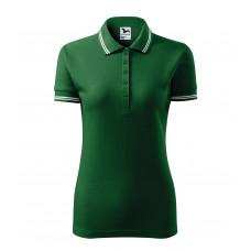 Рубашка поло женская 220 Urban - Бутылочно-зеленый
