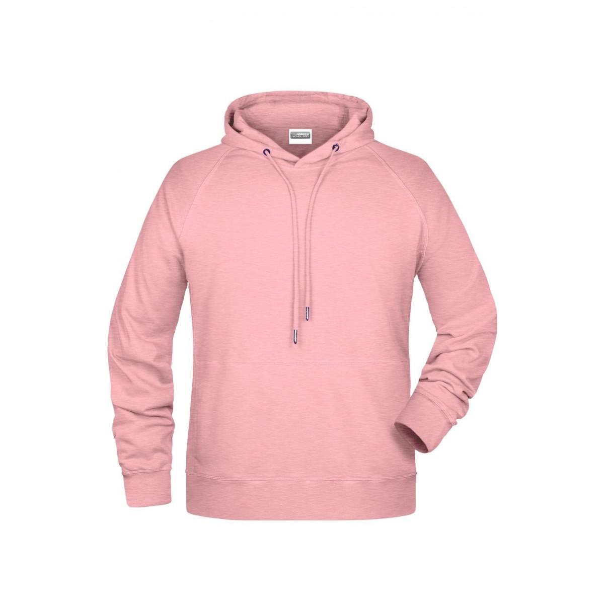 Толстовка мужская 8024 Mens Hoody - Нежно-розовый