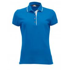 Рубашка поло женская 028243 Seattle Ladies - Ярко-голубой