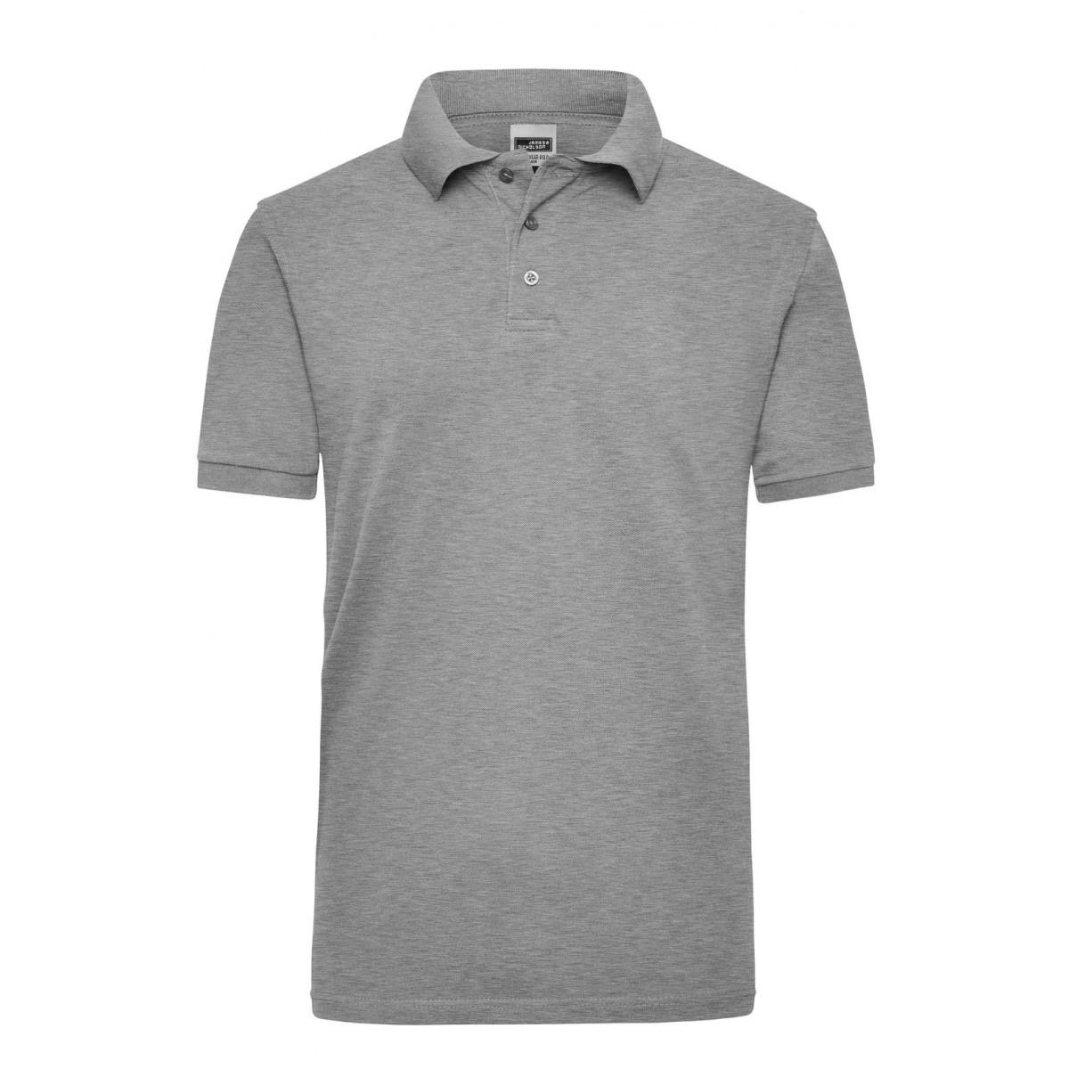 Рубашка поло мужская JN801 Workwear Polo Men - Серый меланж