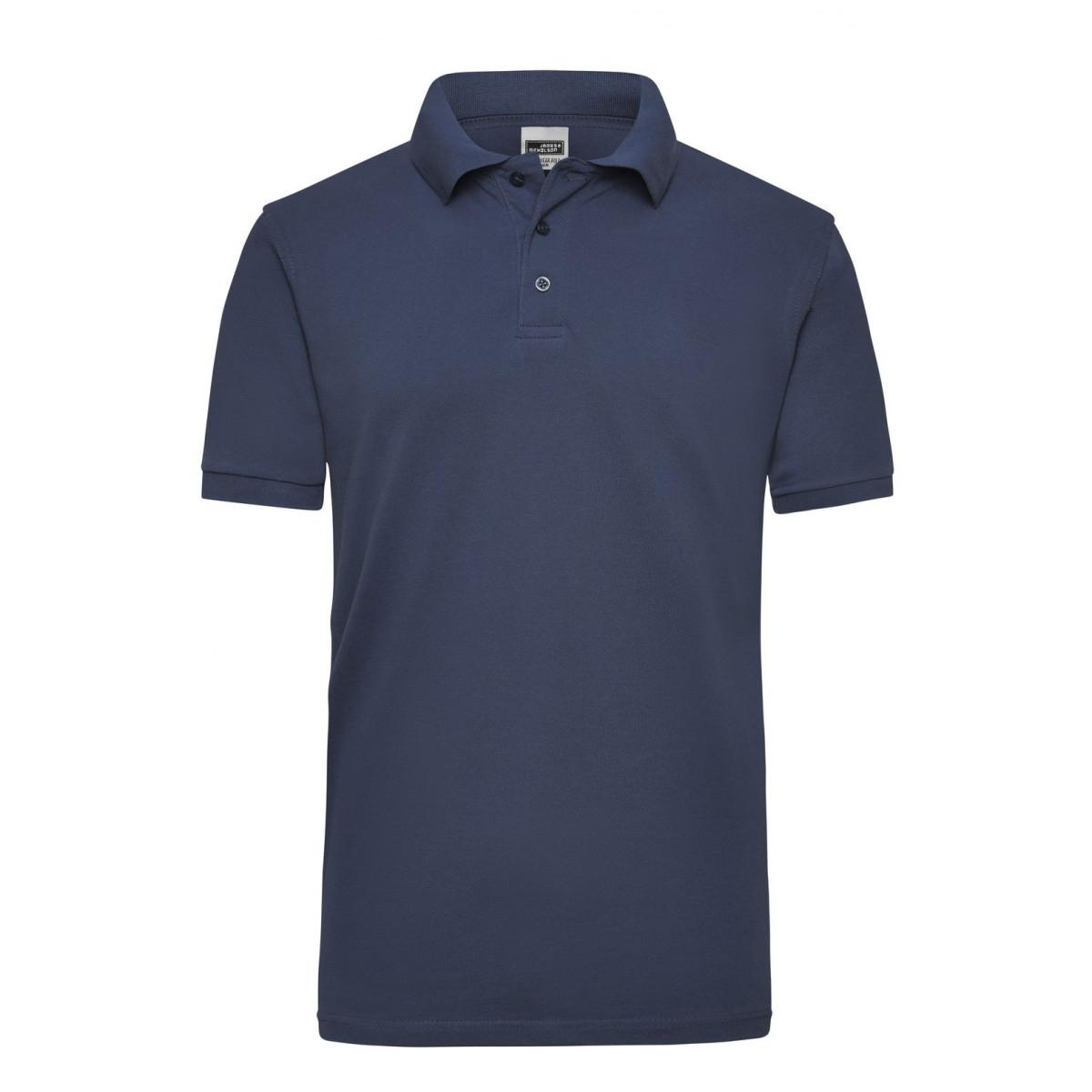 Рубашка поло мужская JN801 Workwear Polo Men - Темно-синий
