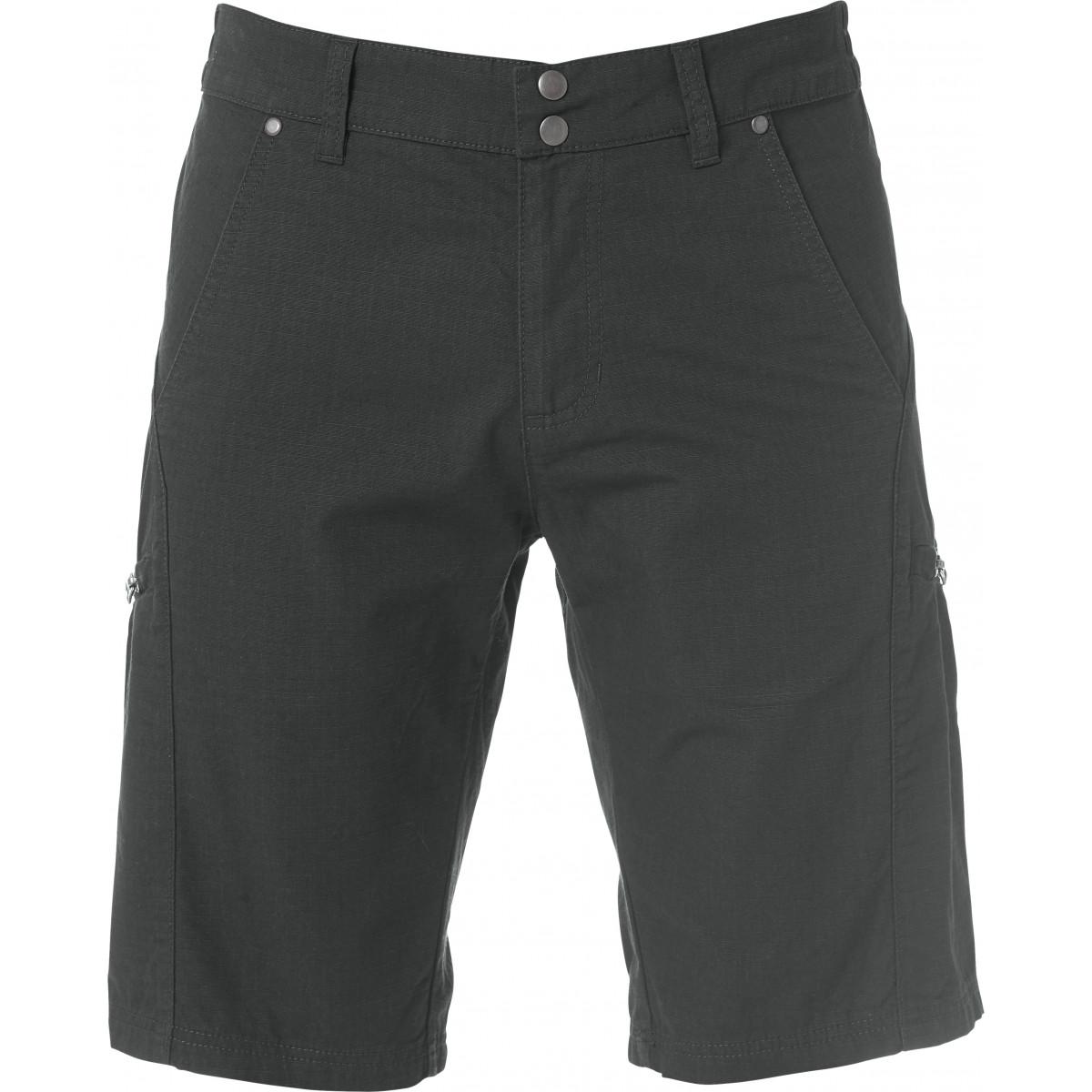 Брюки унисекс 022029 Zip-Pocket Shorts - Темно-серый
