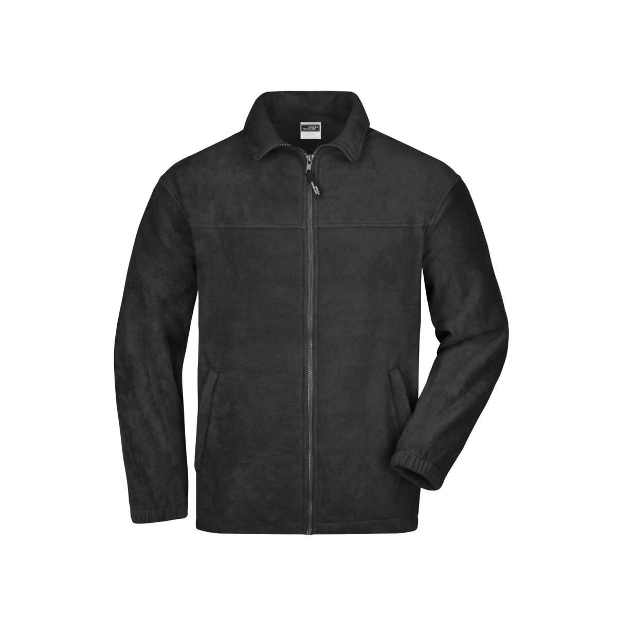 Толстовка мужская JN044 Full-Zip Fleece - Черный