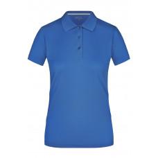 Рубашка поло женская JN411 Ladies' Polo High Performance - Ярко-синий