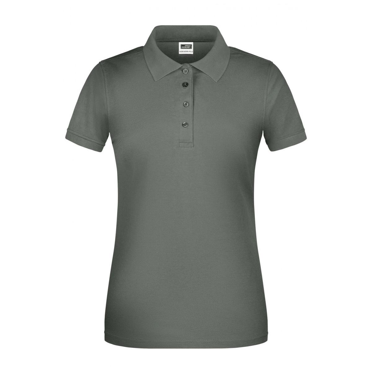 Рубашка поло женская JN873 Ladies BIO Workwear Polo - Темно-серый