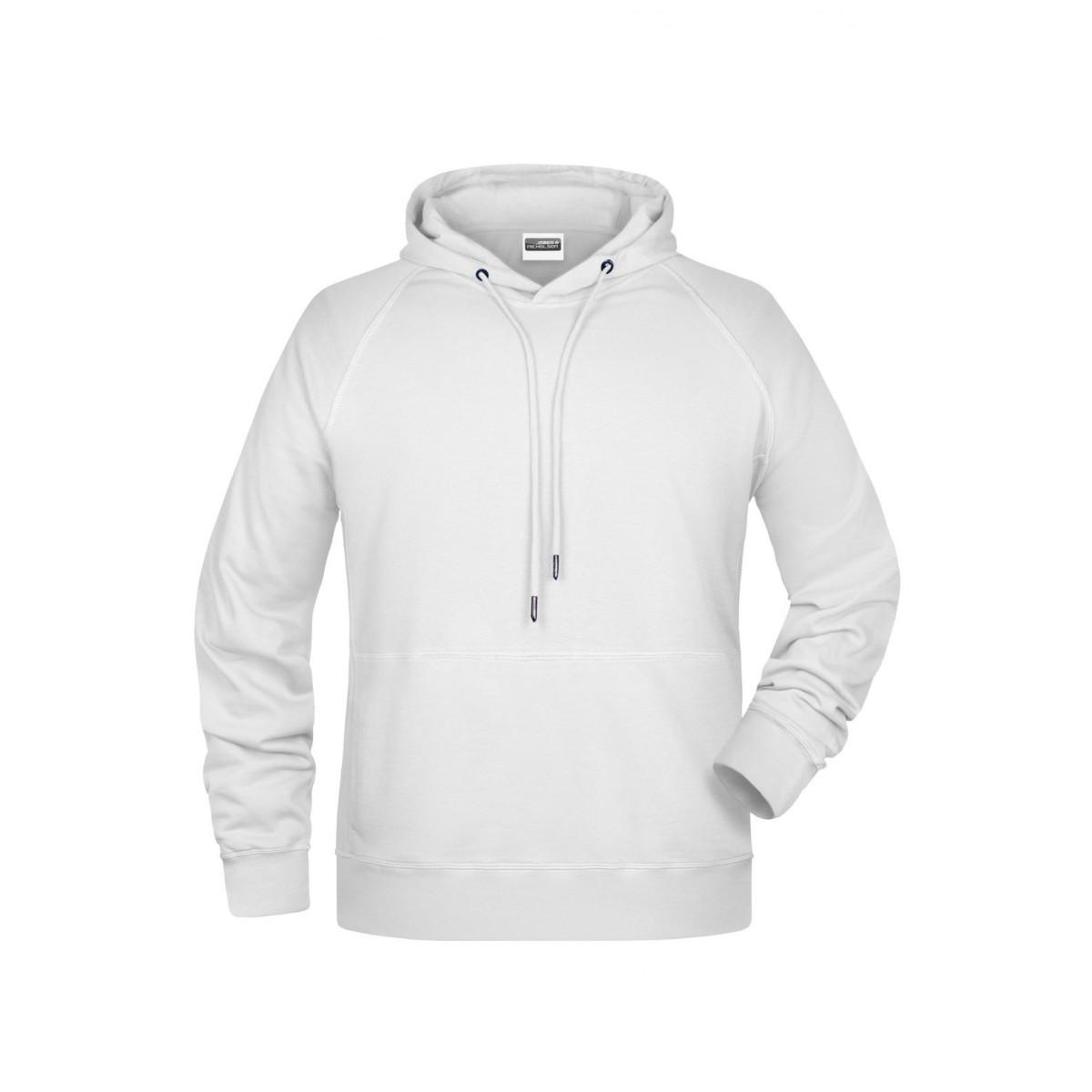 Толстовка мужская 8024 Mens Hoody - Белый