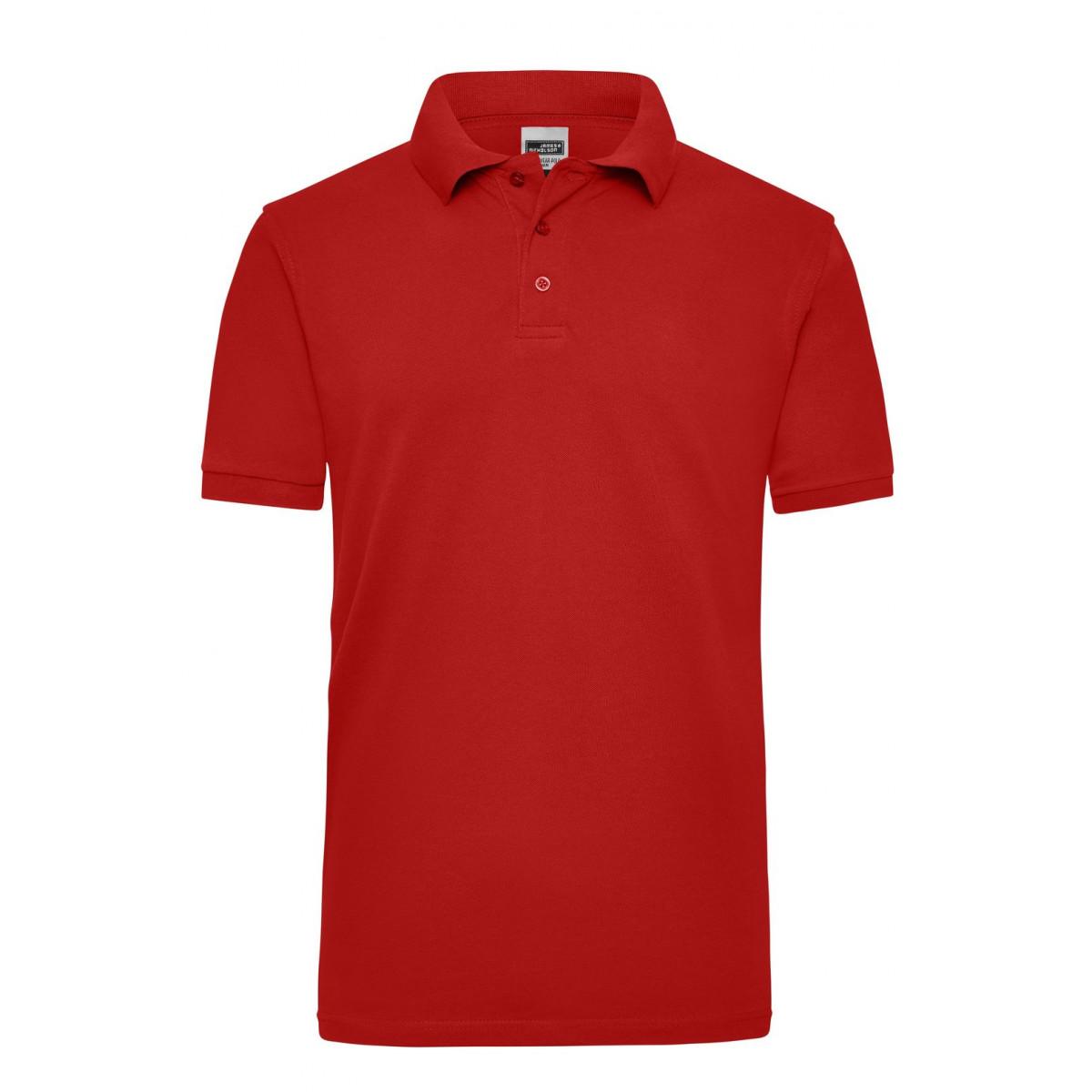 Рубашка поло мужская JN801 Workwear Polo Men - Красный