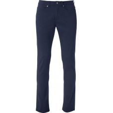 Брюки мужские 022040 5-Pocket Stretch - Темно-синий