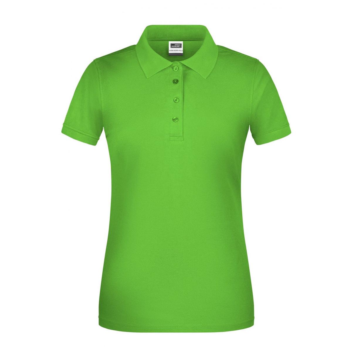 Рубашка поло женская JN873 Ladies BIO Workwear Polo - Лайм