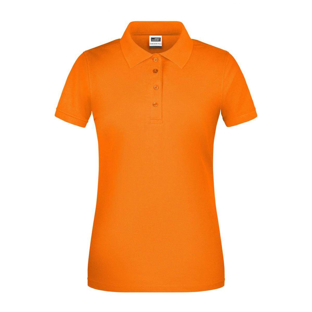 Рубашка поло женская JN873 Ladies BIO Workwear Polo - Оранжевый