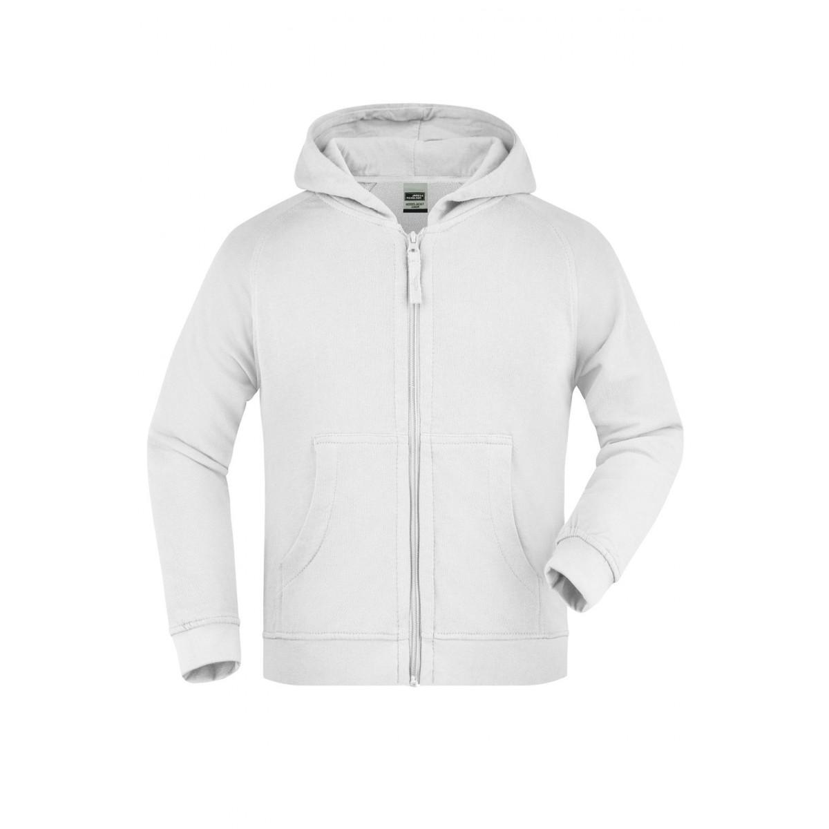 Толстовка детская JN059K Hooded Jacket Junior - Белый
