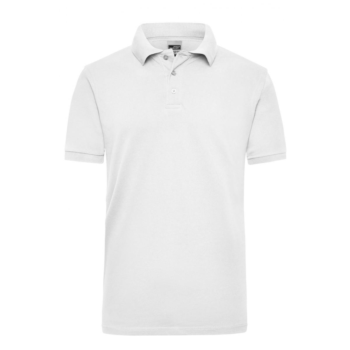 Рубашка поло мужская JN801 Workwear Polo Men - Белый