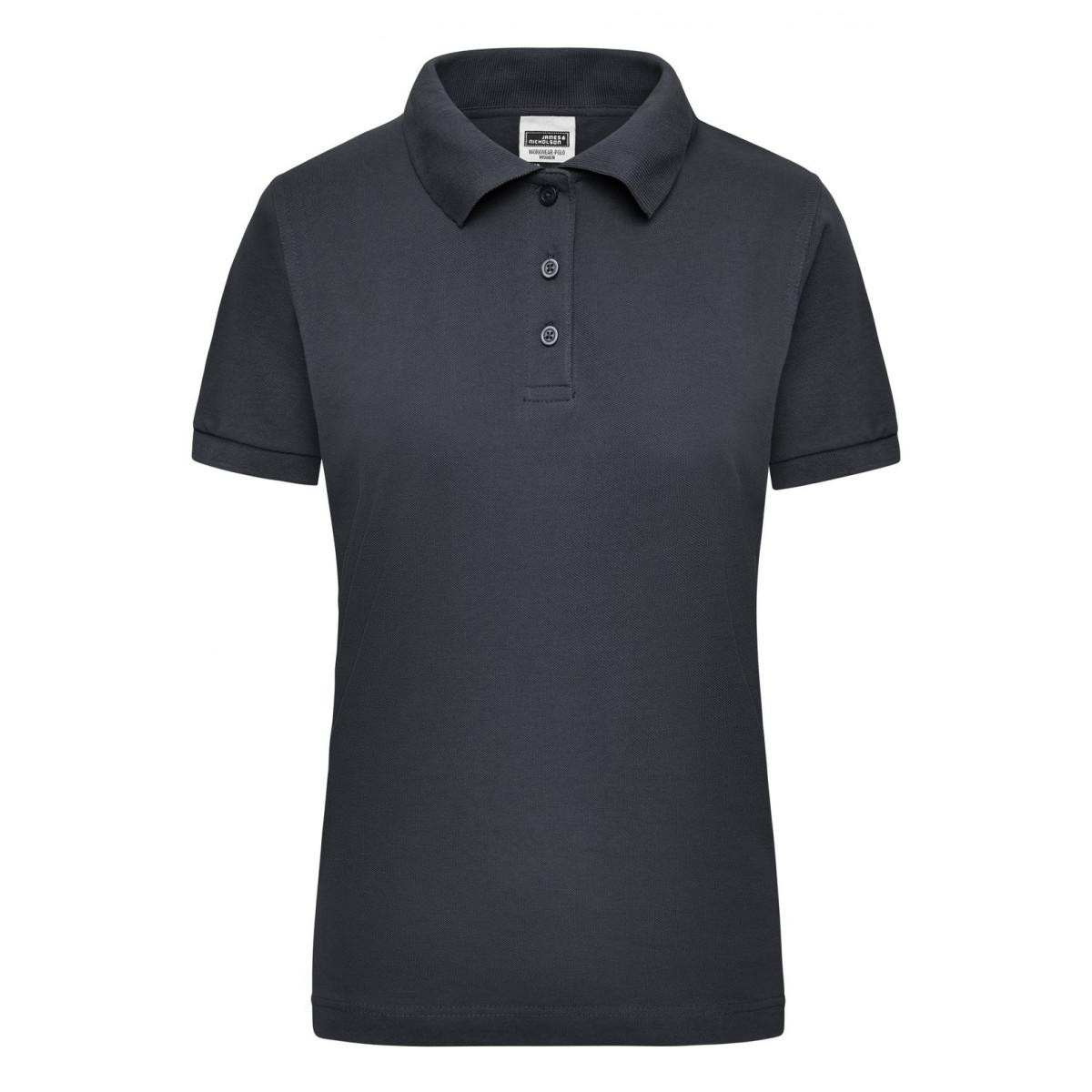 Рубашка поло мужская JN803 Workwear Polo Women - Карбон