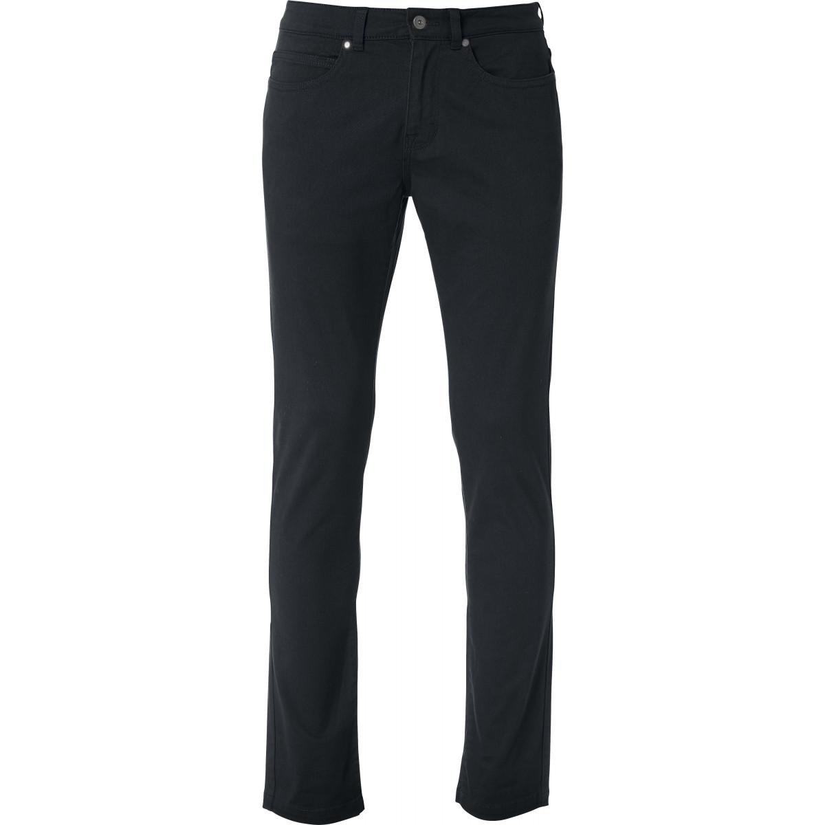Брюки мужские 022040 5-Pocket Stretch - Черный