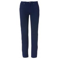 Брюки женские 022041 5-Pocket Stretch Ladies - Темно-синий