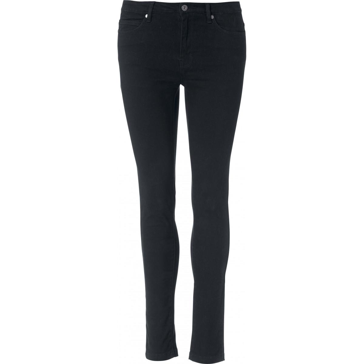 Брюки женские 022041 5-Pocket Stretch Ladies - Черный