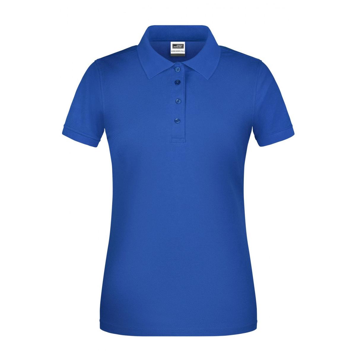 Рубашка поло женская JN873 Ladies BIO Workwear Polo - Ярко-синий