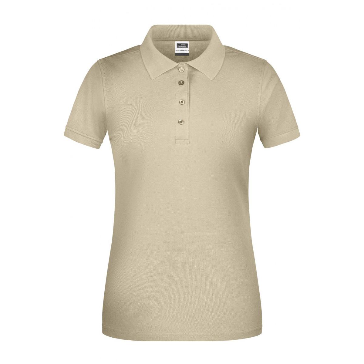 Рубашка поло женская JN873 Ladies BIO Workwear Polo - Бежевый