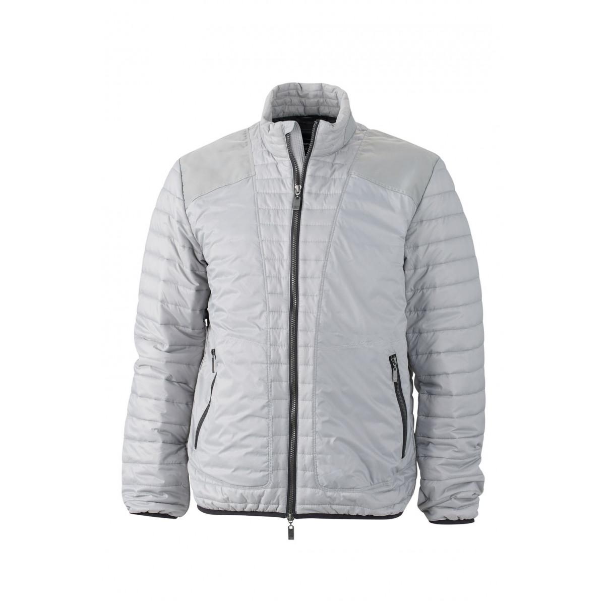 Куртка мужская JN1112 Mens Lightweight Jacket - Серебряный/Черный