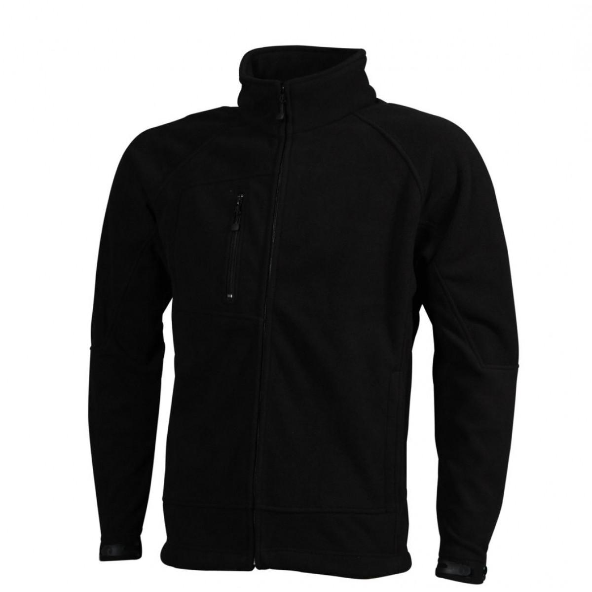 Толстовка мужская JN1006 Men's Bonded Fleece Jacket - Черный/Красный