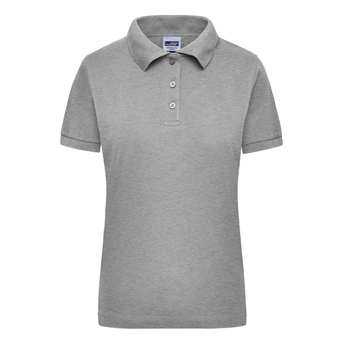 Рубашка поло мужская JN803 Workwear Polo Women - Серый меланж