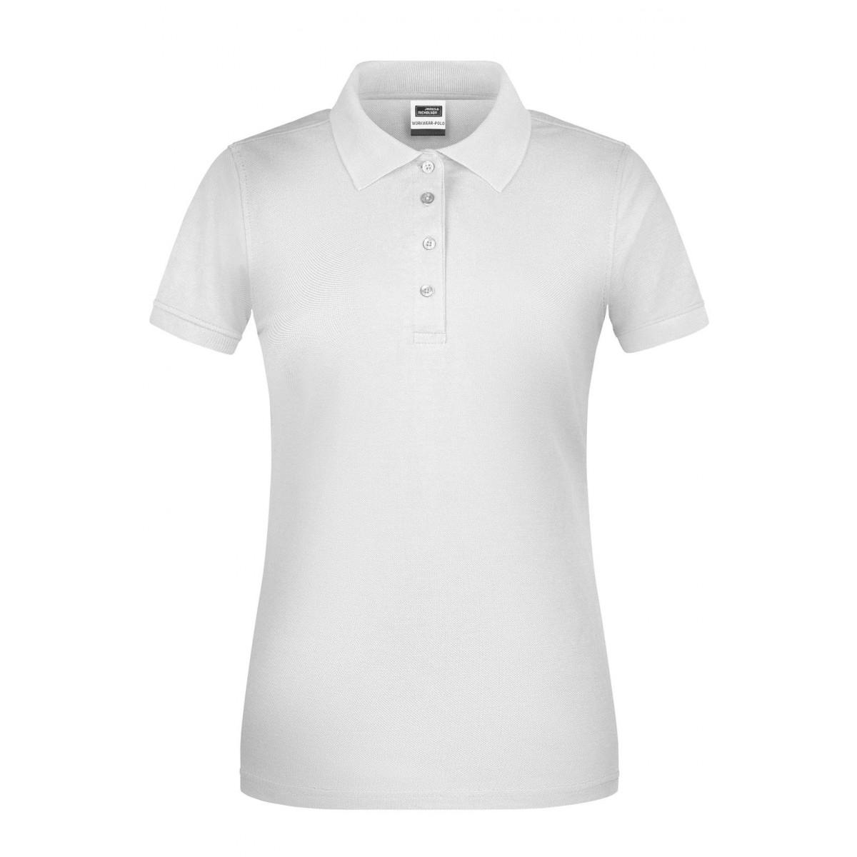Рубашка поло женская JN873 Ladies BIO Workwear Polo - Белый