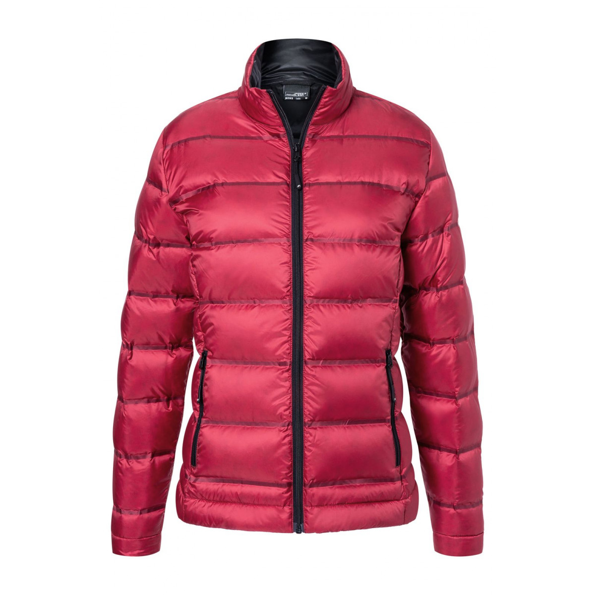 Куртка женская JN1149 Ladies Down Jacket - Красный/Черный