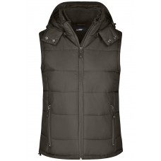 Жилет женский JN1005 Ladies' Padded Vest - Коричневый