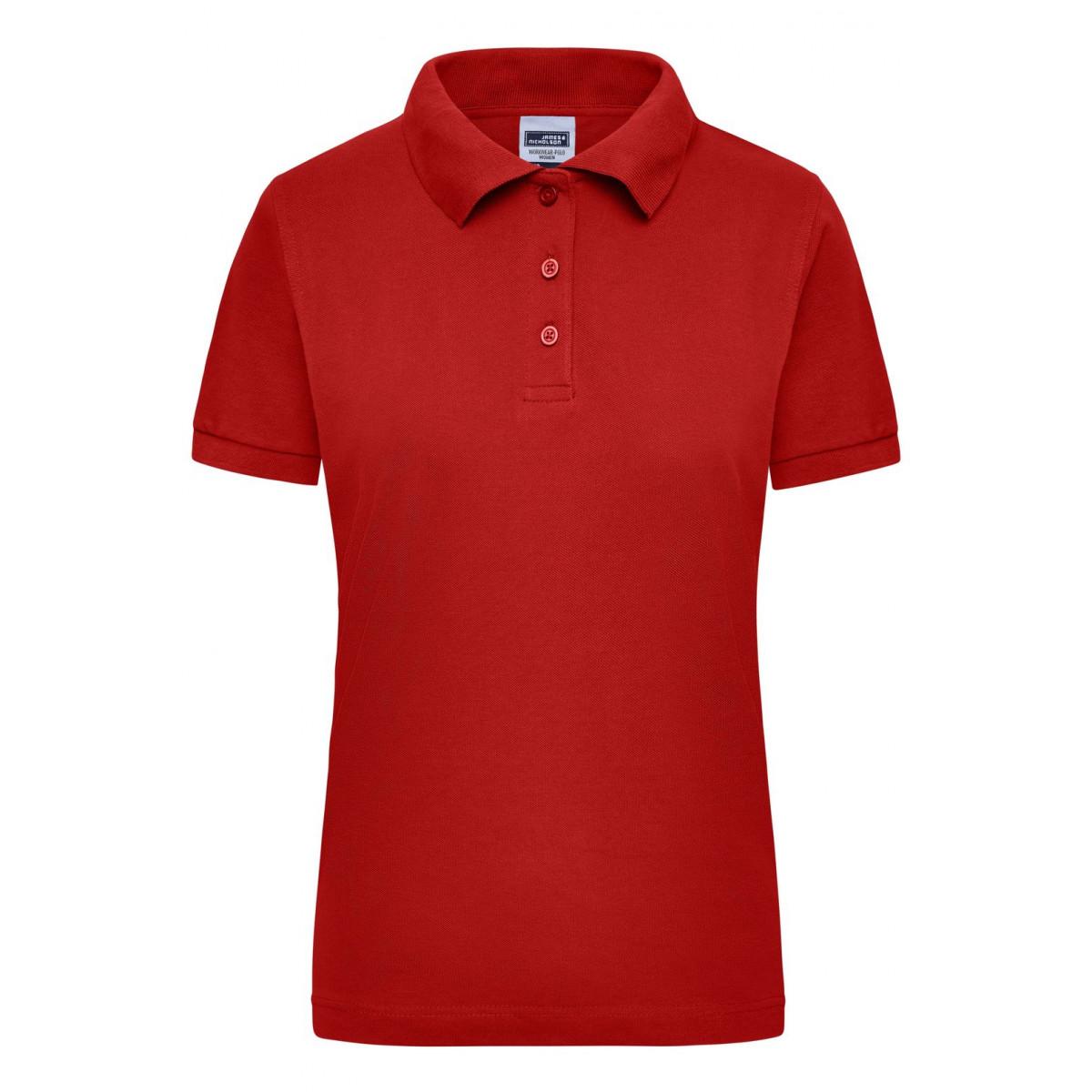 Рубашка поло мужская JN803 Workwear Polo Women - Красный