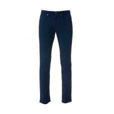 Брюки унисекс 022043 5-Pocket Stretch Light - Темно-синий