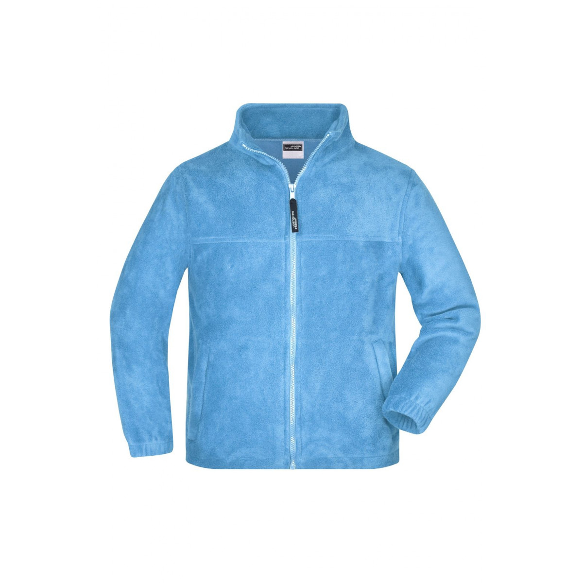Толстовка детская JN044K Full-Zip Fleece Junior - Светло-голубой