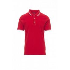 Рубашки поло мужская SKIPPER - Красный/Белый