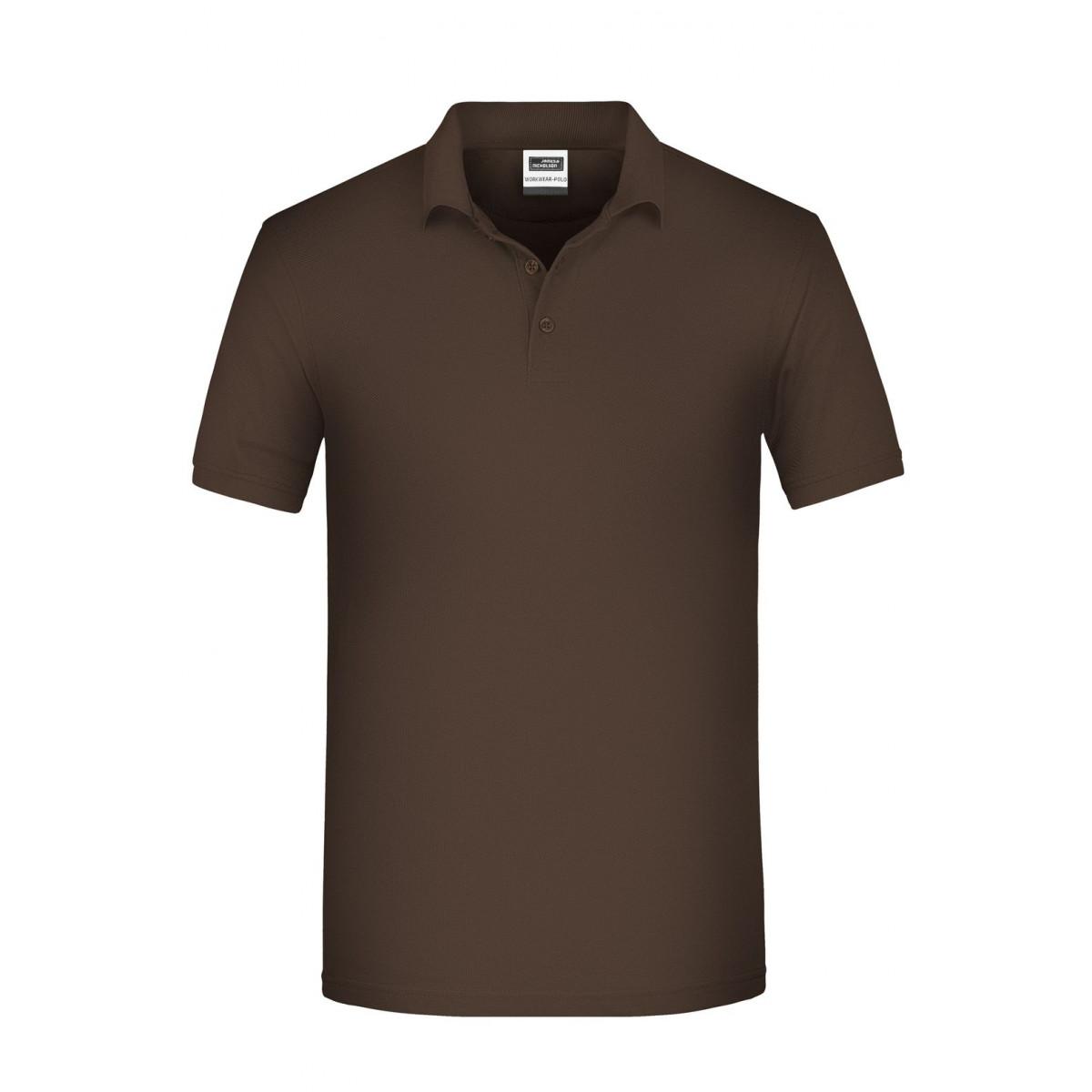 Рубашка поло мужская JN874 Mens BIO Workwear Polo - Коричневый