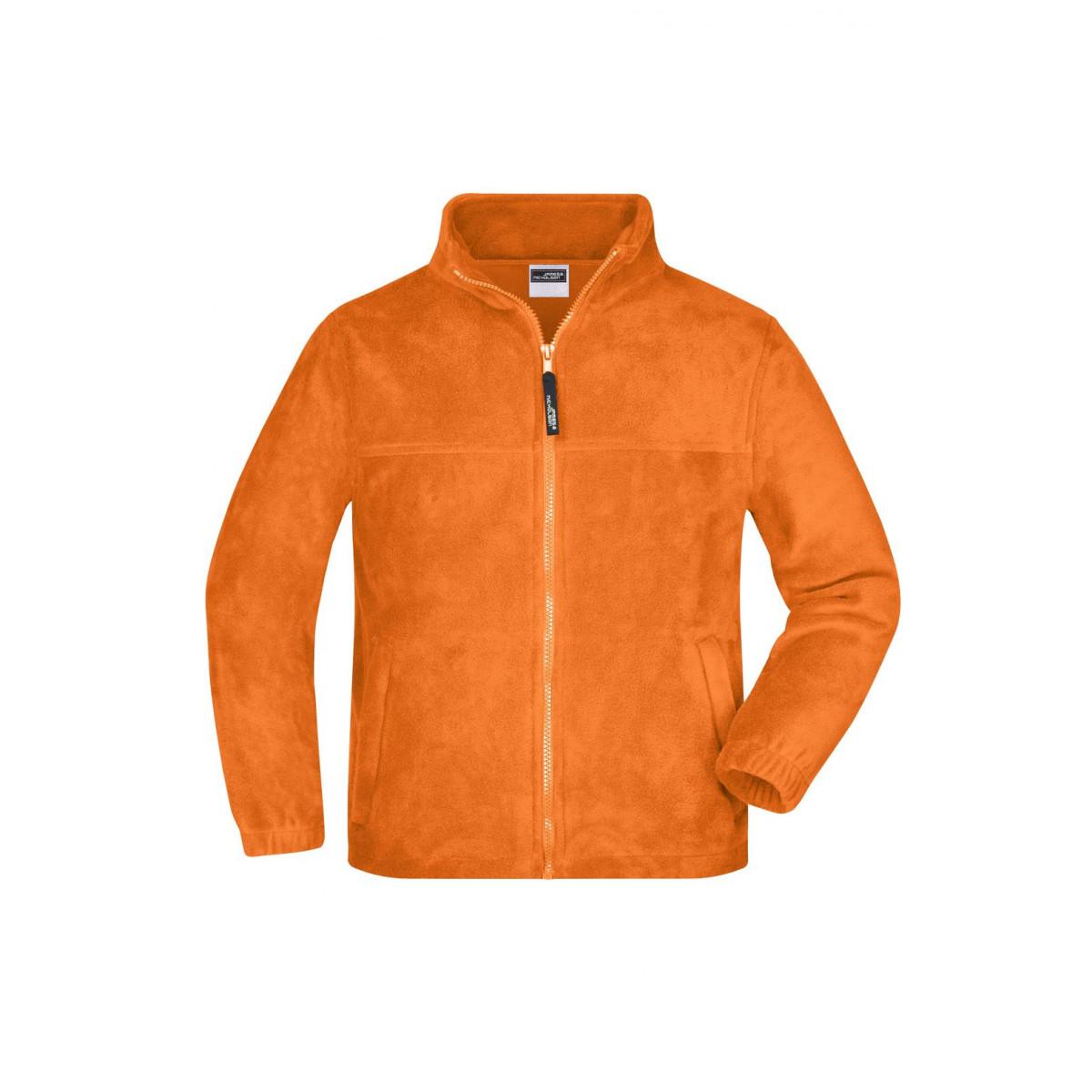 Толстовка детская JN044K Full-Zip Fleece Junior - Оранжевый