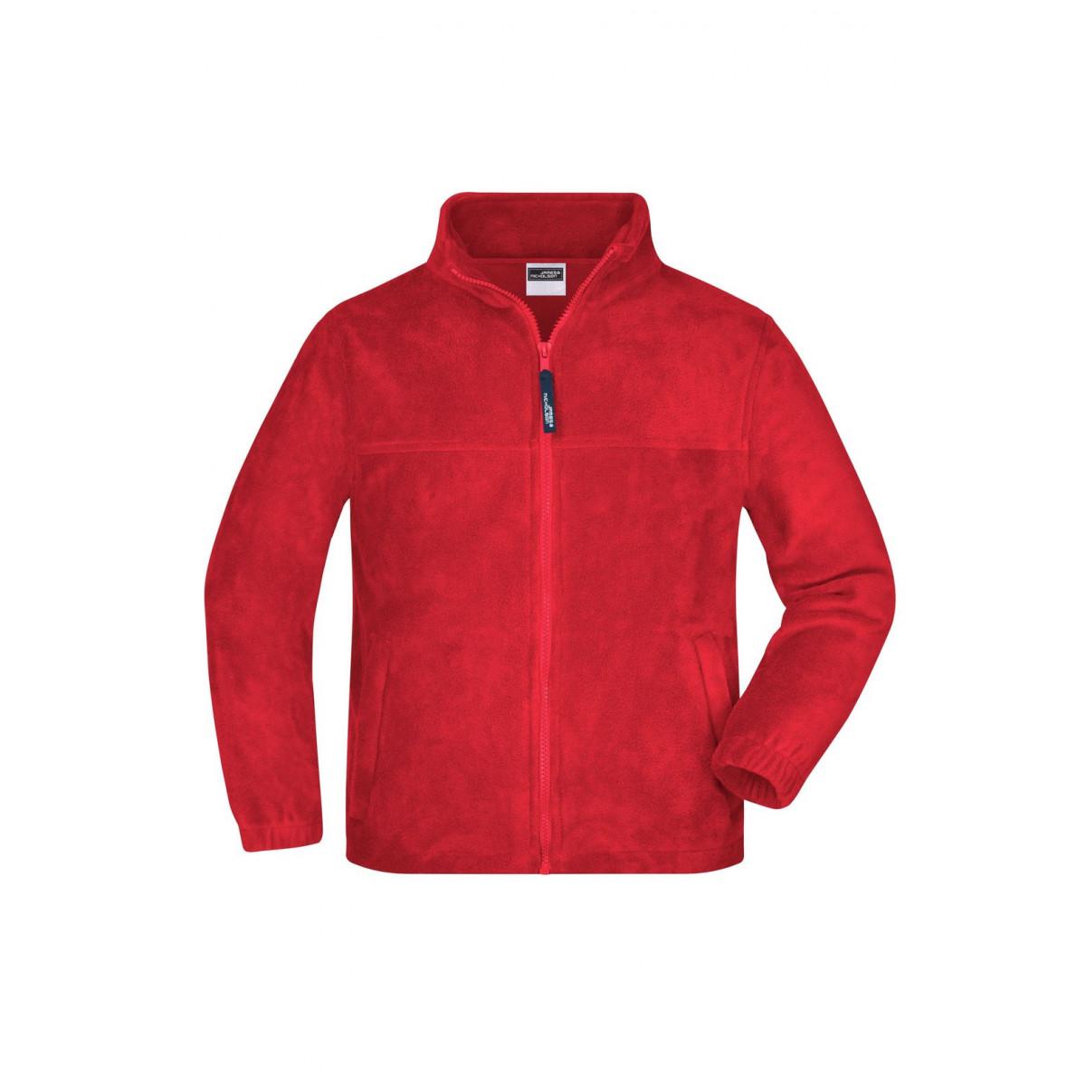 Толстовка детская JN044K Full-Zip Fleece Junior - Красный