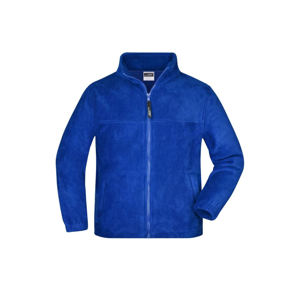 Толстовка детская JN044K Full-Zip Fleece Junior - Ярко-синий