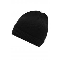 Шапка MB7111 Basic Knitted Beanie - Черный