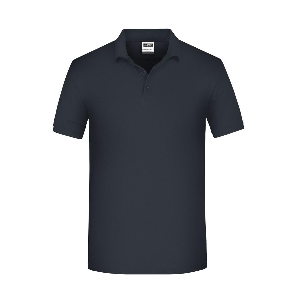 Рубашка поло мужская JN874 Mens BIO Workwear Polo - Карбон