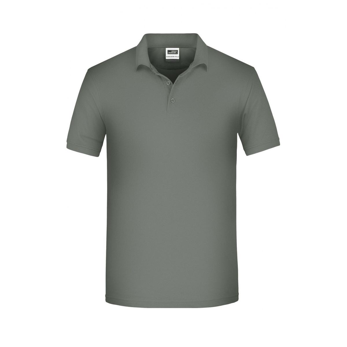 Рубашка поло мужская JN874 Mens BIO Workwear Polo - Темно-серый