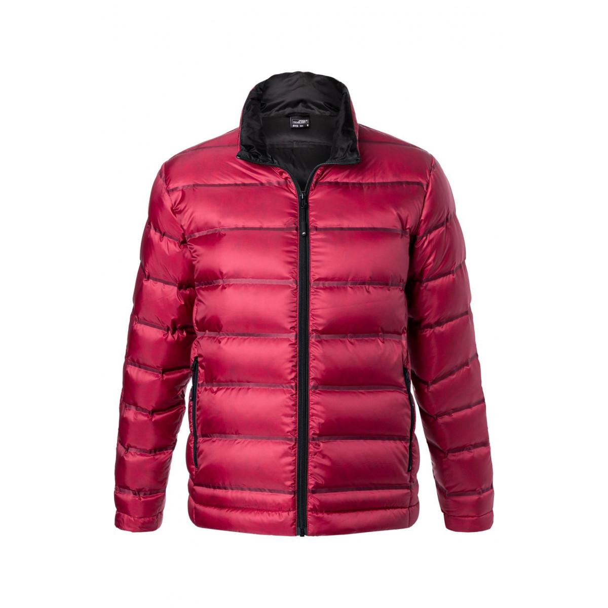 Куртка мужская JN1150 Mens Down Jacket - Красный/Черный