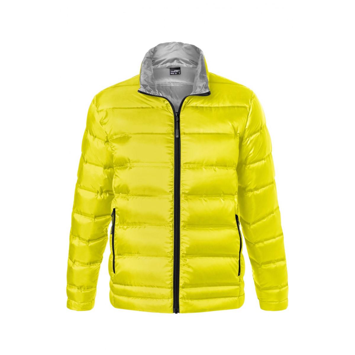 Куртка мужская JN1150 Mens Down Jacket - Желтый/Серебряный