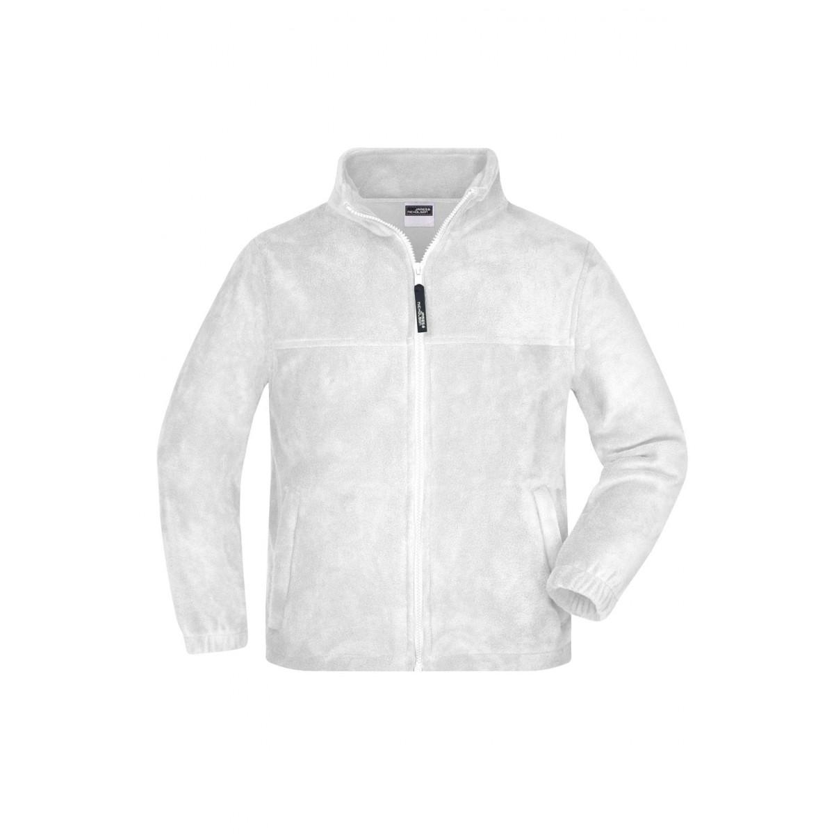 Толстовка детская JN044K Full-Zip Fleece Junior - Белый