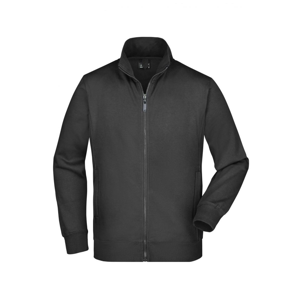 Толстовка мужская JN046 Mens Jacket - Черный